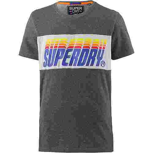 Superdry T-Shirt Herren charcoal birdseye