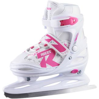 ROCES Jokey Ice 2.0 Girl Schlittschuhe Kinder white-fuchsia