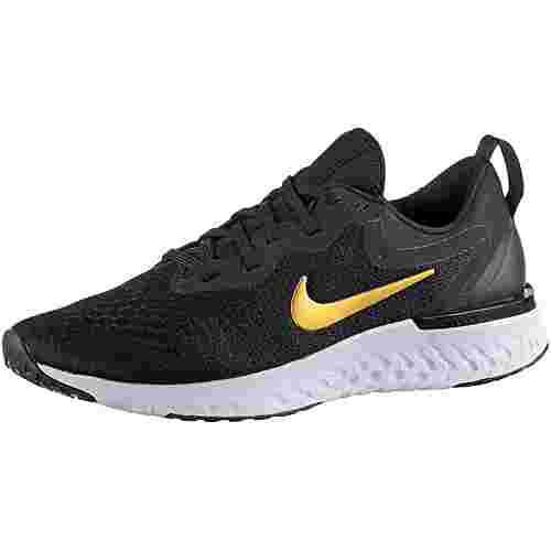 Nike Odyssey React Laufschuhe Damen black-metallic-gold-vast-grey-metallic-platinum
