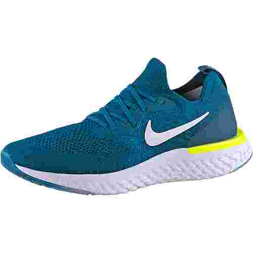 Nike React Laufschuhe Herren green-abyss-white-blue-force-volt