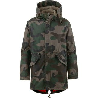 Jack & Jones JORNEW BENTO Parka Herren forest night