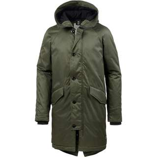 TOM TAILOR Parka Herren woodland green