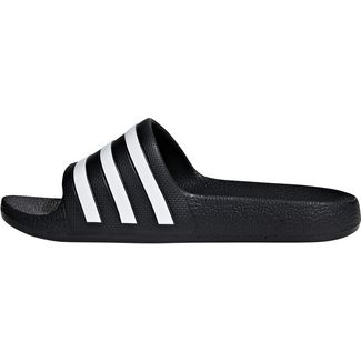 pretty nice 39342 c407e adidas ADILETTE AQUA Badelatschen Kinder core black