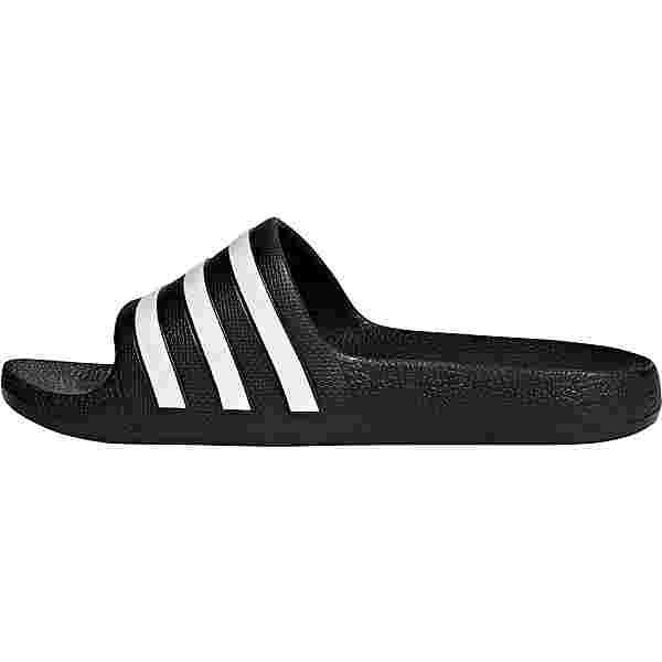 adidas ADILETTE AQUA Badelatschen Kinder core black