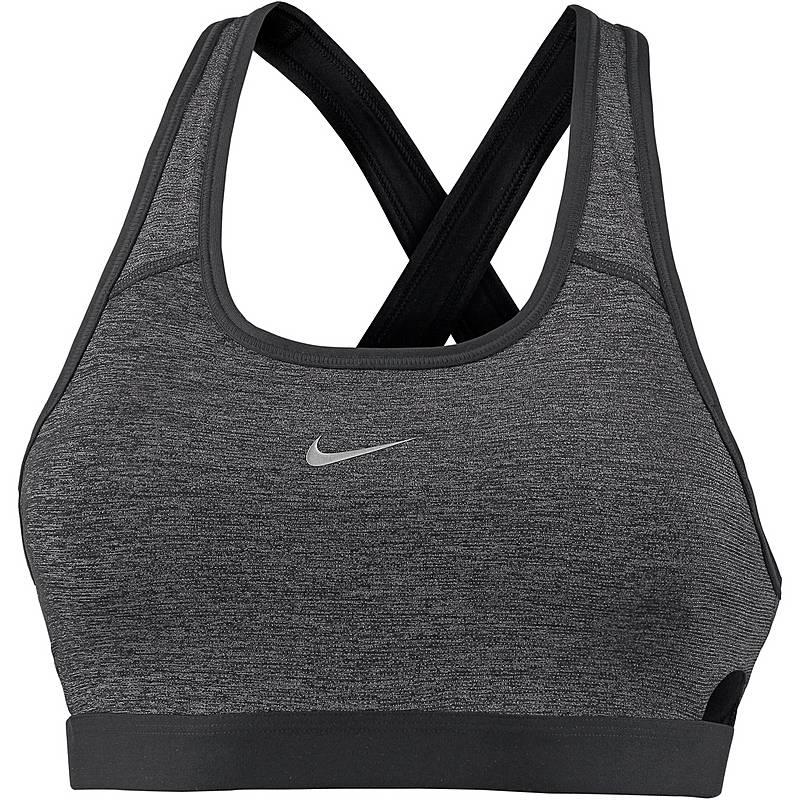 b7b8e26b84 Nike Classic Sport-BH Damen black metallic silver im Online Shop von ...