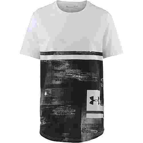 Under Armour T-Shirt Herren white-black