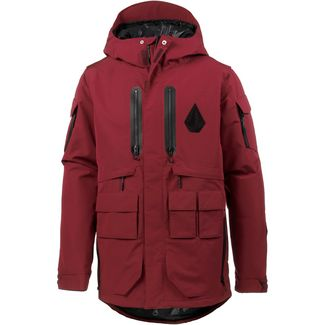 Volcom Lynx Snowboardjacke Herren burnt red
