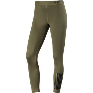 Nike Pro JDI Tights Damen olive canvas/black