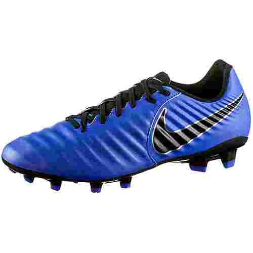 Nike TIEMPO LEGEND 7 ACADEMY FG Fußballschuhe racer blue-black-mtlc silver
