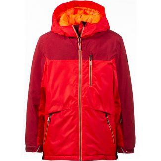 ICEPEAK Skijacke Kinder classic red