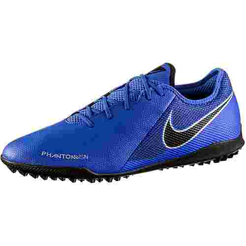 Nike PHANTOM VSN ACADEMY TF Fußballschuhe racer blue-black-mtlc silver-volt-white-mtlc silver