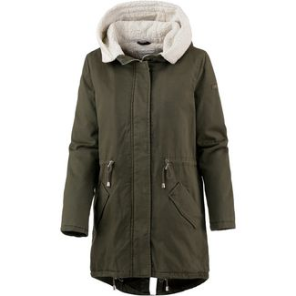 TOM TAILOR Parka Damen woodland green