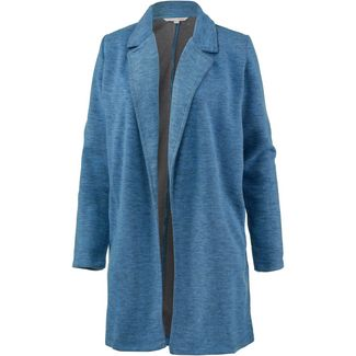 TOM TAILOR Sweatjacke Damen viola blue mélange