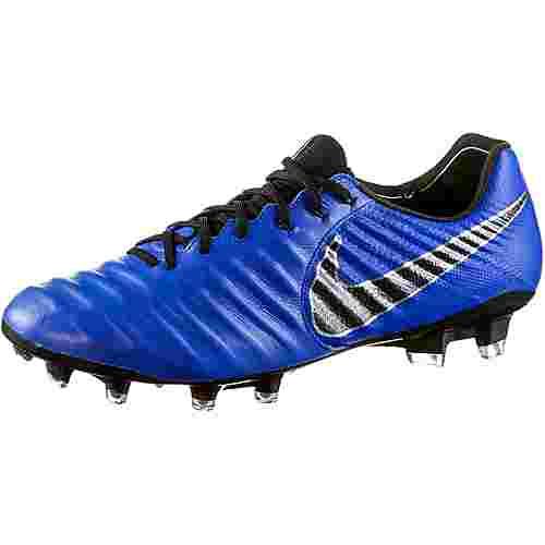 Nike TIEMPO LEGEND 7 ELITE FG Fußballschuhe racer blue-black-mtlc silver