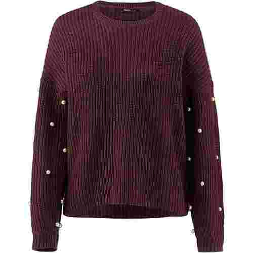 Only Strickpullover Damen chocolate truffle