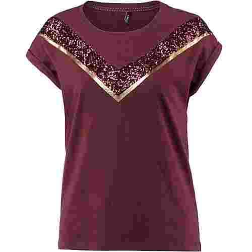 Only T-Shirt Damen chocolate truffle