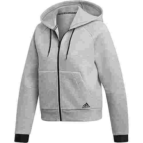 adidas Must haves Sweatjacke Damen medium grey heather