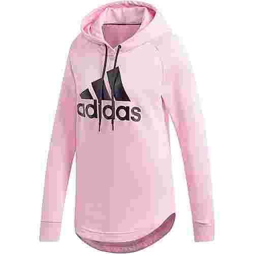 adidas Batch of sport Hoodie Damen true pink