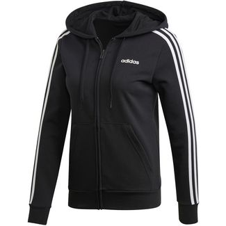 adidas Essentials Linear Sweatjacke Damen black