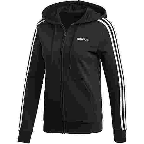 adidas Essentials Linear Sweatjacke Damen black