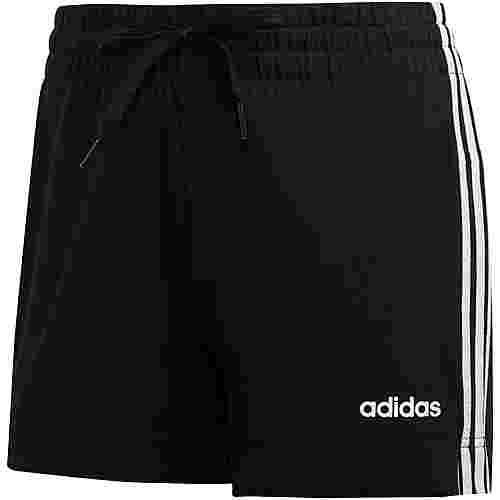 adidas Essentials Linear Shorts Damen black