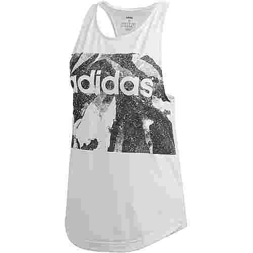 adidas Essential All over Tanktop Damen white