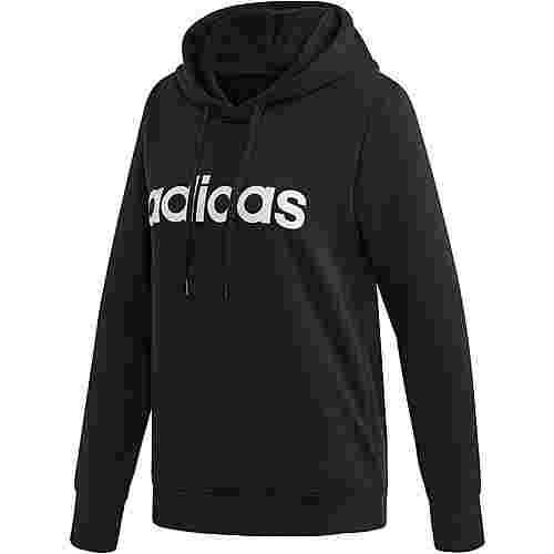 adidas Essentials Linear Hoodie Damen black