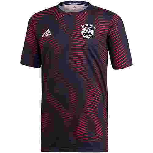 adidas FC Bayern Prematch Funktionsshirt Herren collegiate navy