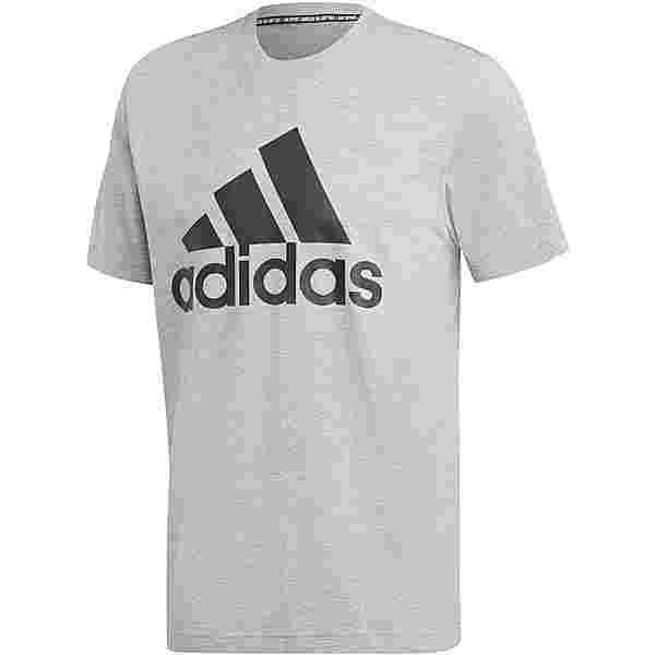 adidas MH BOS T-Shirt Herren medium grey heather