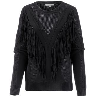 TOM TAILOR Strickpullover Damen deep black