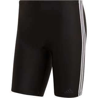 adidas Fit 3-Stripes Badehose Herren black