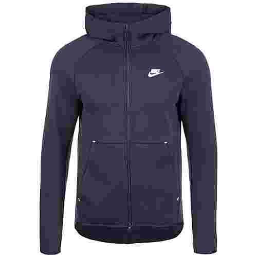 Nike Tech Fleece Kapuzenjacke Herren dunkelblau