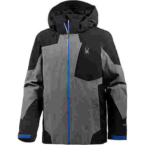 Spyder Chambers Skijacke Herren tech flannel-black-turkish sea