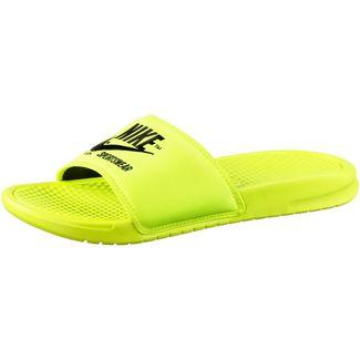 Nike Slide Benassi JDI TXT SE Badelatschen Herren volt-black