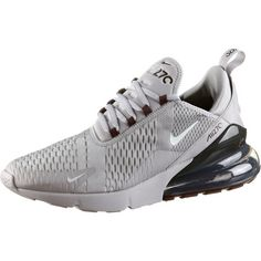 Nike Air Max 270 Sneaker Herren atmosphere grey-light silver-burgundy