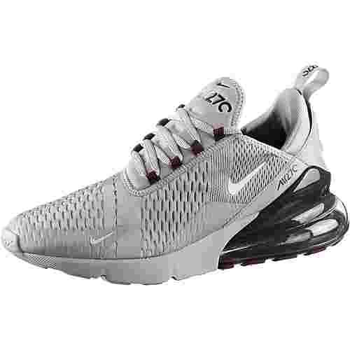 Nike Air Max 270 Sneaker Herren atmosphere grey-light silver-burgundy