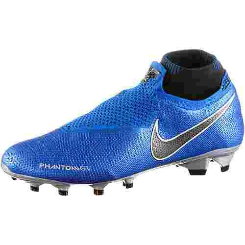 Nike PHANTOM VSN ELITE DF FG Fußballschuhe racer blue-black-mtlc silver-volt