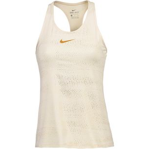 Nike Pro Funktionstank Damen light cream/metallic gold