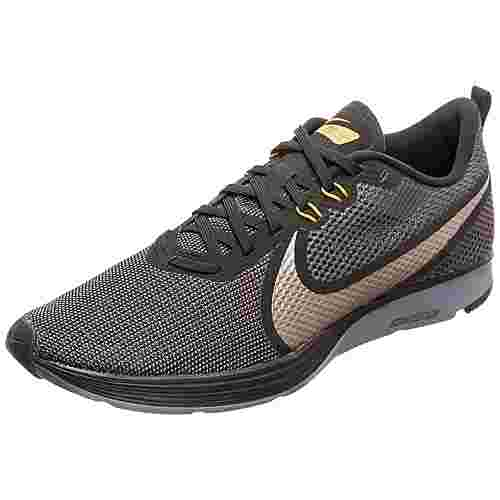 Nike Zoom Strike 2 Laufschuhe Herren schwarz / grau