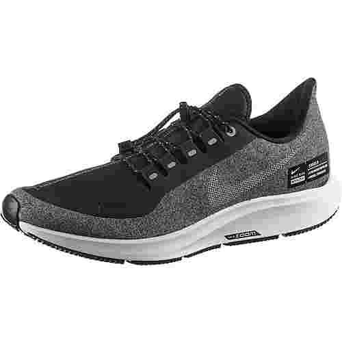 Nike AIR ZOOM PEGASUS 35 SHIELD Laufschuhe Herren black-metallic-silver-cool-grey-vast-grey