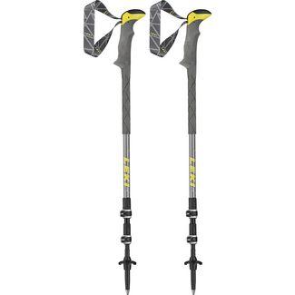 LEKI Sherpa Lite XTG Teleskopstock grau-weiß-dunkelgrau-gelb