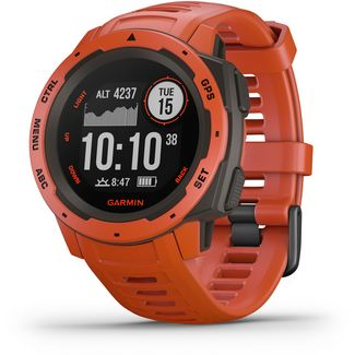 Garmin Instinct Sportuhr red