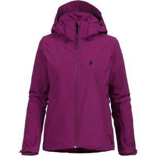 Peak Performance Anima Skijacke Damen blood cherry
