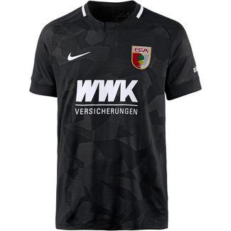 Nike FC Augsburg 18/19 Auswärts Fußballtrikot Herren schwarz