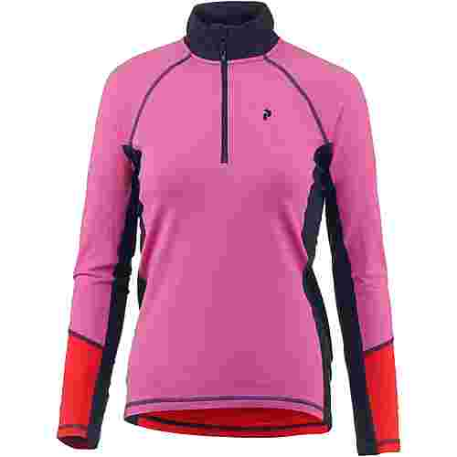 Peak Performance Magic Funktionsshirt Damen vibrant pink
