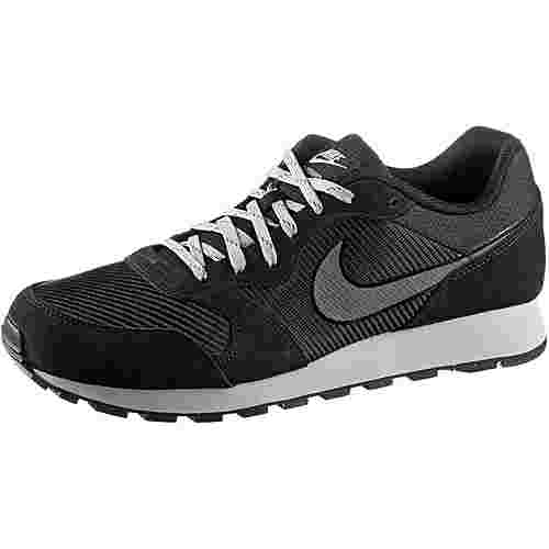 Nike MD Runner 2 Sneaker Herren black-dark grey-wolf grey