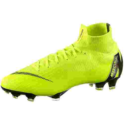 Nike MERCURIAL SUPERFLY 6 ELITE FG Fußballschuhe volt-black