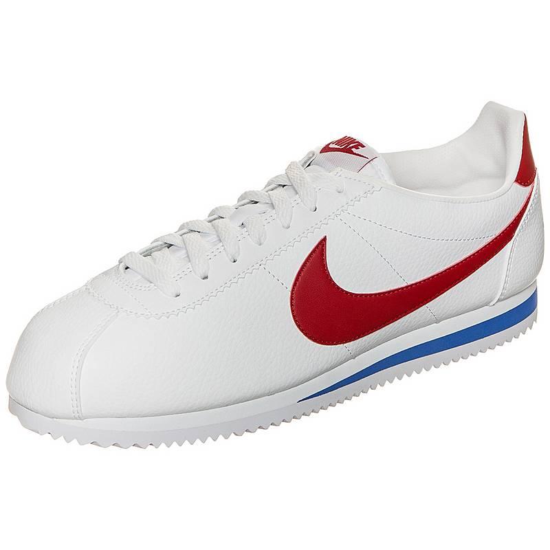 fff57430e08 ... sweden nike classic cortez leather sneaker herren weiß rot blau f6d70  0a758