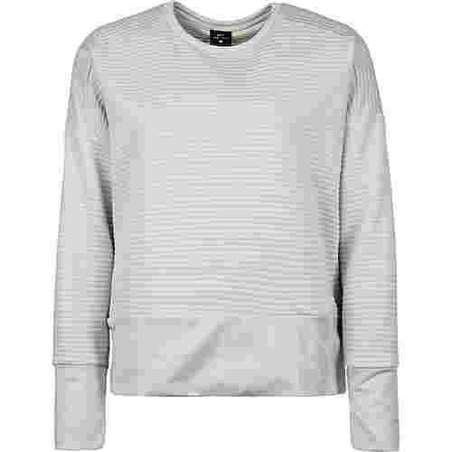Nike Dry Top Crew Sweatshirt Damen hellgrau