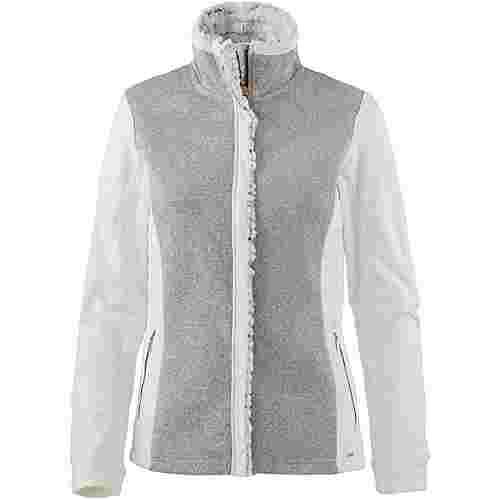 Luhta Viia Fleecejacke Damen light grey